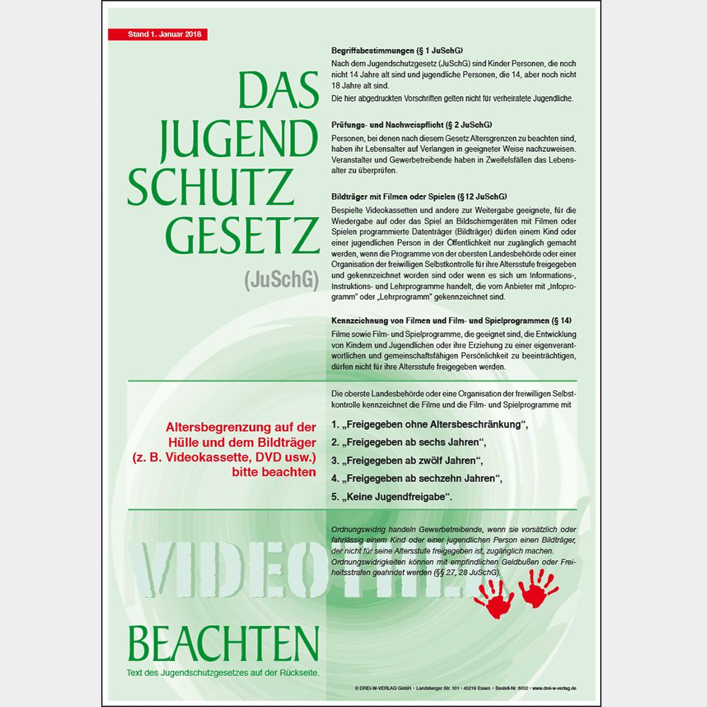 Aushang (DIN A4) • Videotheken