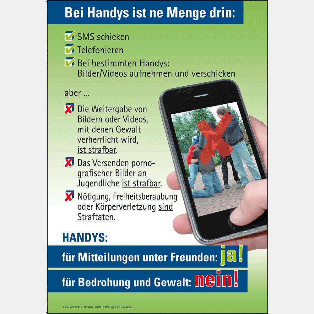 Plakat (DIN-A2) • Keine Gewalt auf Handys