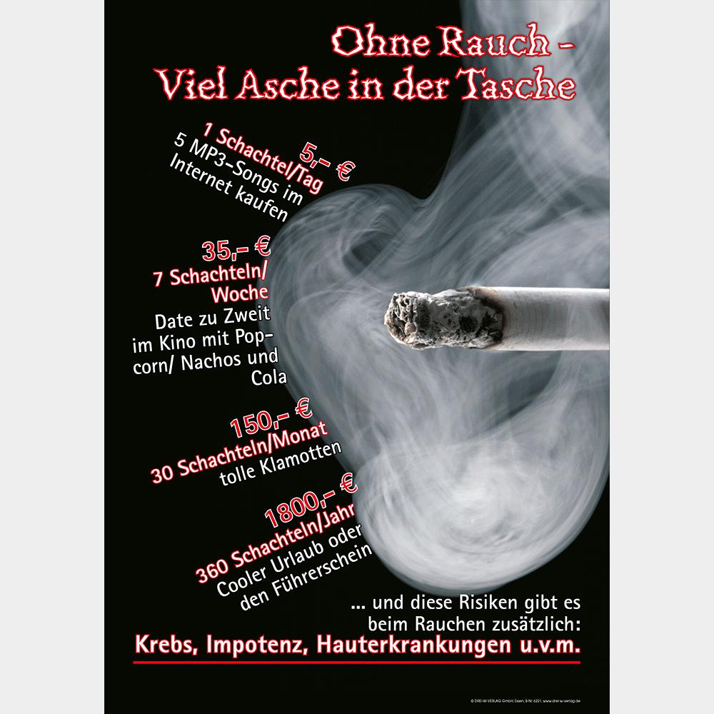 Plakat (DIN-A2) • Nichtrauchen