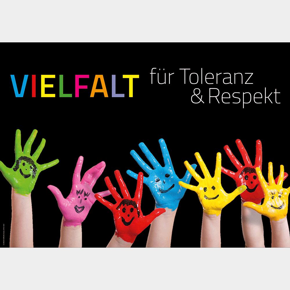 Plakat (DIN-A3) • Respekt und Toleranz