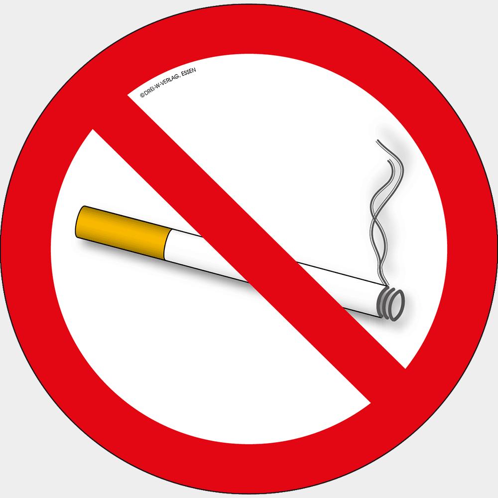 Rauchverbot • Ø 5 cm