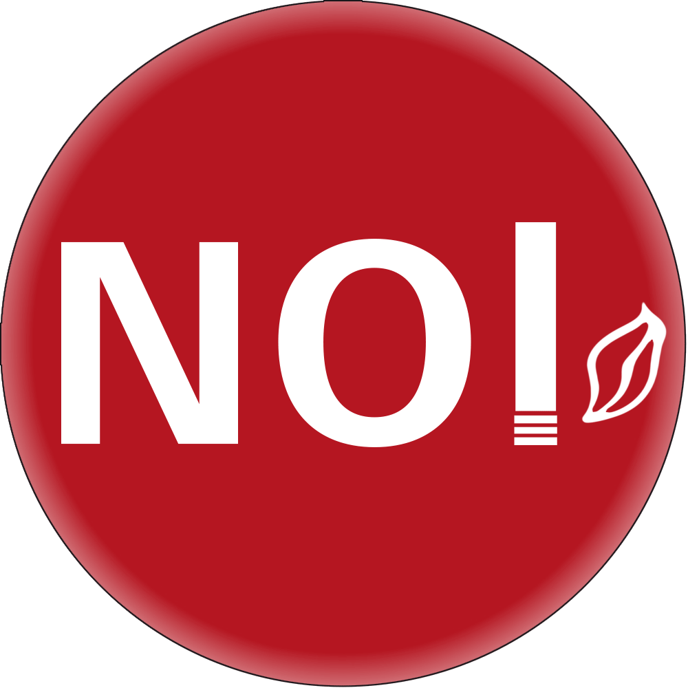 NO (Rauchverbot) • Ø 5 cm