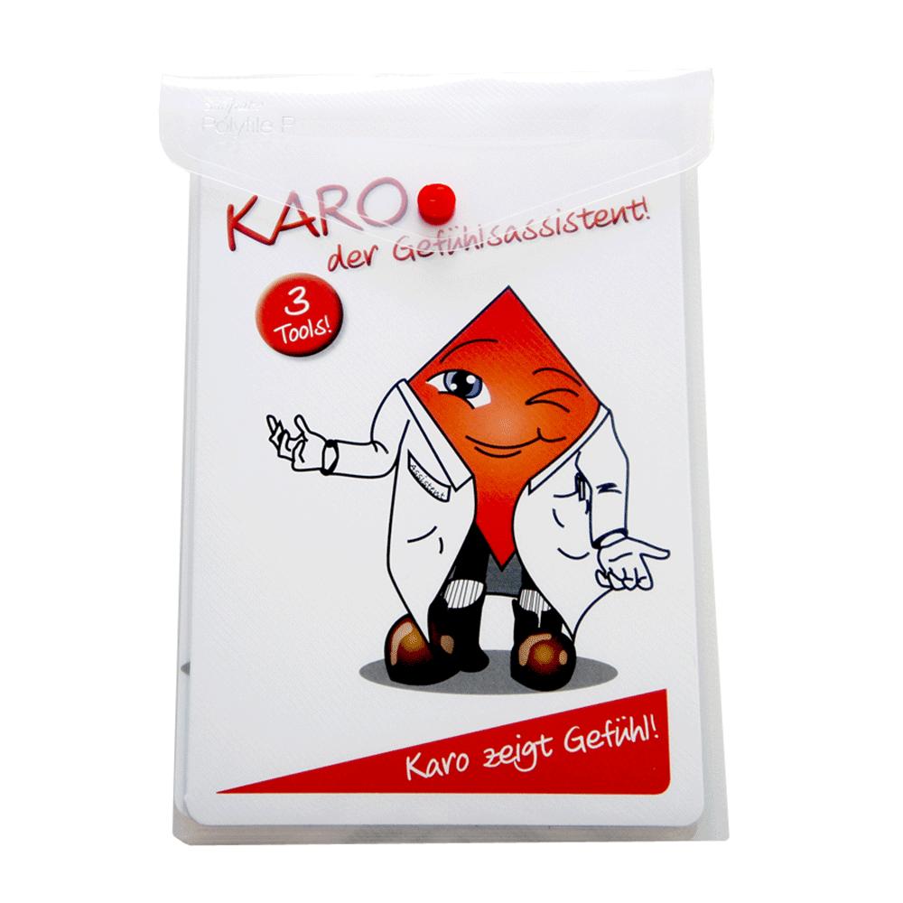 Karo - Der Gefühlsassistent • (Din A5+)